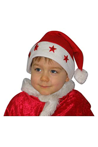 Bonnet De Noël Enfant - Étoile Lumineux - Taille Unique
