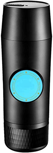 Cafeteras portátil Cafetera, Un botón de modo, compatible con Nespresso Cápsula, Máquina for Camping eléctrico, Cafetera for la conducción, viajes espressos Haike WTZ012