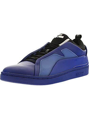 PUMA Men's MCQ Brace Lo Surf Web/Black/Surf Web Ankle-High Leather Fashion Sneaker - 10M