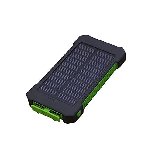 KoelrMsd Cargador de batería de teléfono móvil a Prueba de Golpes de 10000 MAH Fuente de alimentación Externa del Banco de energía para teléfono Inteligente con luz LED