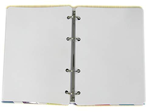 Recambio Agenda con 4 agujeros - Tamaño del papel A5...