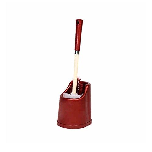 &brosse de toilette Brosse de toilette de salle de bains à long manche pinceau souple en plastique simple brosse de mode (Couleur : B)