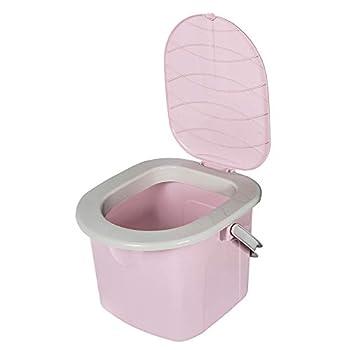BranQ 1306 Toilettes de camping Gris Taille M Taille unique Rose