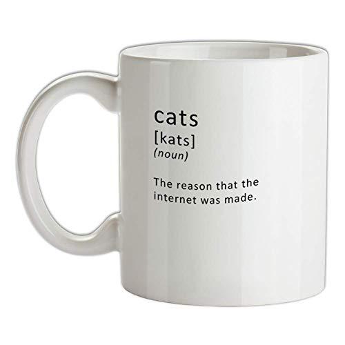 Lustige Definition Katzen (der Grund, warum das Internet gemacht wurde) Becher - Internet - Cat