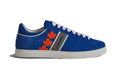 DSQUARED , Herren Sneaker Blau blau, Blau - blau - Größe: 40 EU
