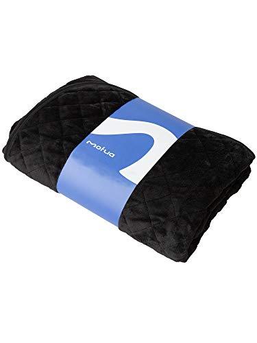 ナイスデイ mofua モフア 敷きパッド キング ブラック ふんわり あったか 1年間品質保証 静電気防止加工 プレミアムマイクロファイバー 50010510