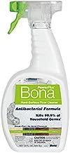 Bona PowerPlus Antibacterial Hard-Surface Floor Cleaner, Spray - 32 Fl Oz