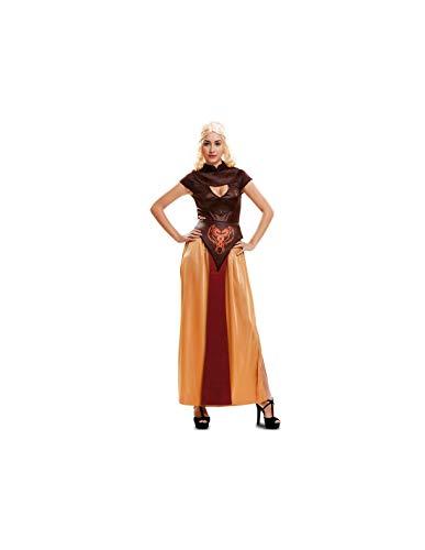 DISBACANAL Disfraz Reina de Dragones guerrera Mujer - -, M-L