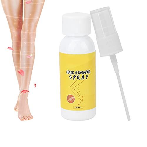 Spray suave para detener el crecimiento del cabello, removedor de cabello no irritante, spray de depilación rápida, spray depilatorio, crema depilatoria, crema depilatoria para mujeres y hombres
