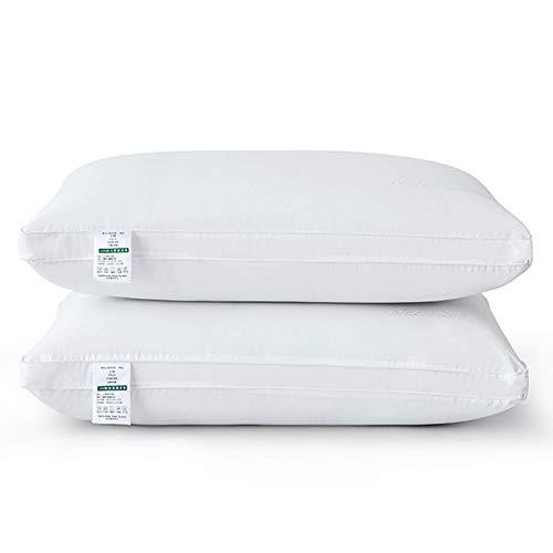 Colección de hoteles almohadas for dormir, almohadas estándar suaves con almohadas con almohadas 100% algodón. Cubierta a prueba de inactividad, for durmientes de respaldo del estómago lateral, conjun