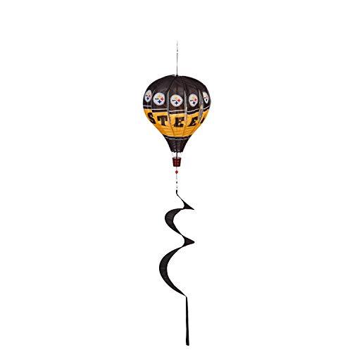 Team Sports America NFL Pittsburgh Steelers Stunning Outdoor Balloon Spinner - 12
