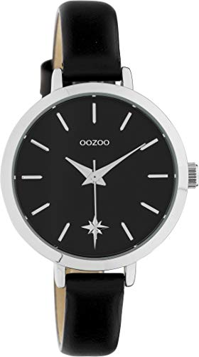OOZOO Timepieces Zwart horloge C10389 (38 mm)