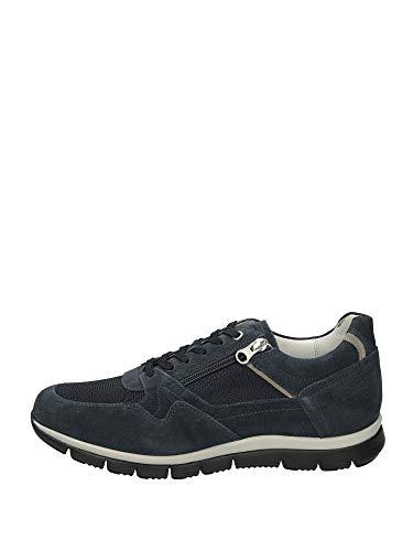 Nero Giardini Sneakers Uomo camoscio Blue 42