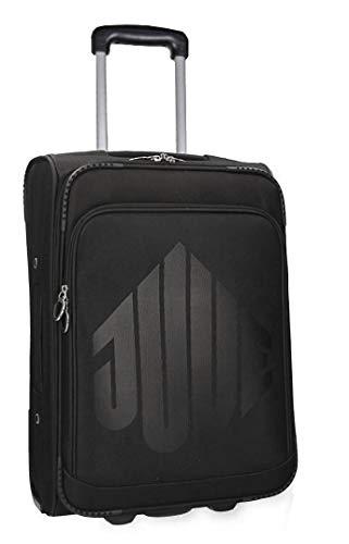 Valigia trolley semirigido JUVENTUS nero cabina bagaglio a mano VS421