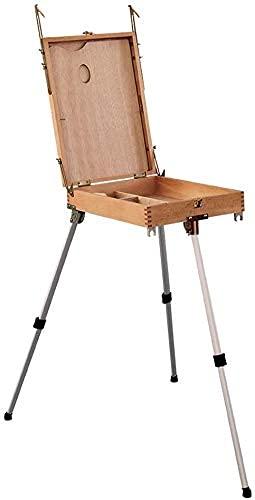 Caballete para artistas, herramienta de pintura, trípode, caballete para artistas, caja de imágenes portátil, caballete de escritorio multifunción para estudio, soporte de aleación de aluminio FENGNV2