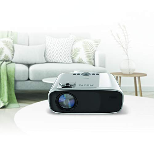 Philips NeoPix Easy Mini Video Projector, 80 Inch Display, Built-in Media Player, HDMI, USB, microSD, 3.5mm Audio Jack Photo #2