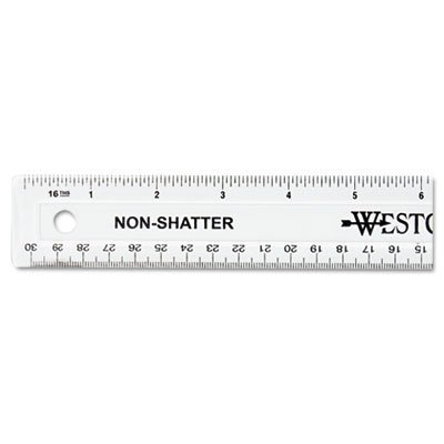 12'' Shatterproof Ruler by ACME UNITED CORPORATION