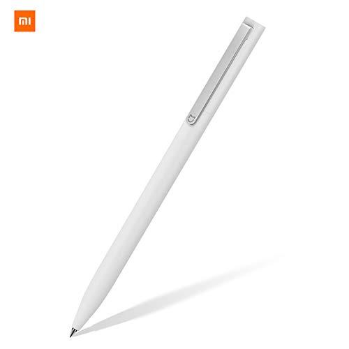 Xiaomi BZL4011TY - Bolígrafo (Bolígrafo retráctil con clip, Blanco, De plástico, Negro, 0,5 mm, 1 pieza(s))