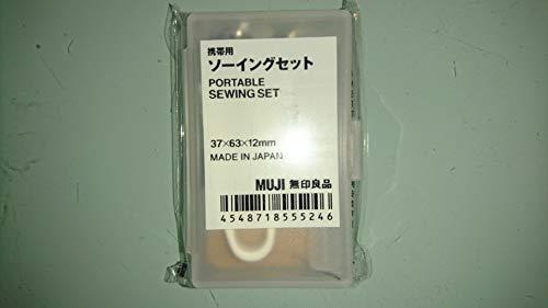 無印良品 携帯用ソーイングセット 約37x63x12mm (1)