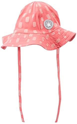 Sigikid Baby-Mädchen Sonnen-Hut aus Bio-Baumwolle für Kinder Sonnenhut, Pink, 38 cm