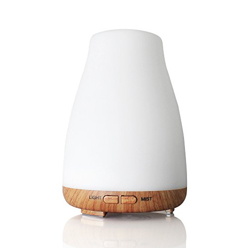 Aroma Diffuser 100ml Colorful Ultrasonic Humidifier Aroma Diffuser/Aromatherapy Essential Oil Diffuser Cool Mist Humidifier for Home, Yoga, Office, Spa, Bedroom, Baby Room