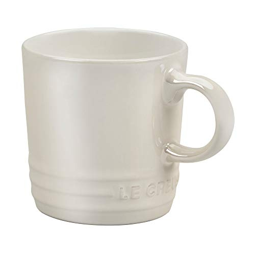 Le Creuset Stoneware Espresso Mug, 3 oz., Metallic Meringue