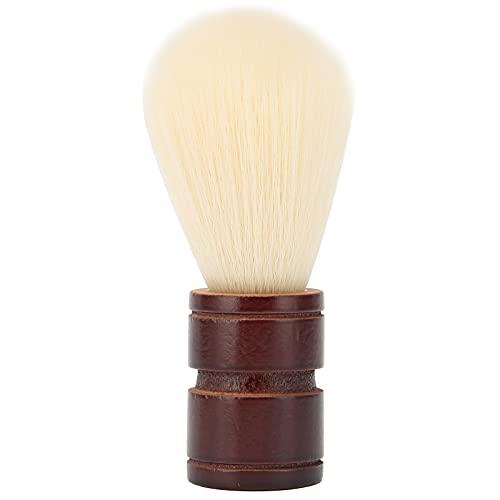 Cepillo para barba, Carro de limpieza profesional, Mango de madera de lana...
