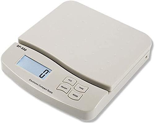 LCD-scherm digitale keukenweegschaal 25kg / 1g elektronische weegschaal Hoge precisie Tara functie,White