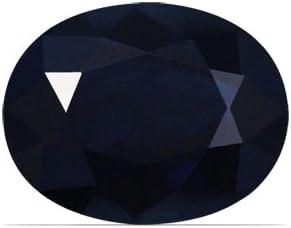 Finally resale start GemsNY 2.65 Carat Natural Max 45% OFF Sapphire Blue Oval
