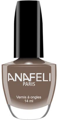 Anafeli Paris – Nagellack Nr. 121 – Dunkelgrau