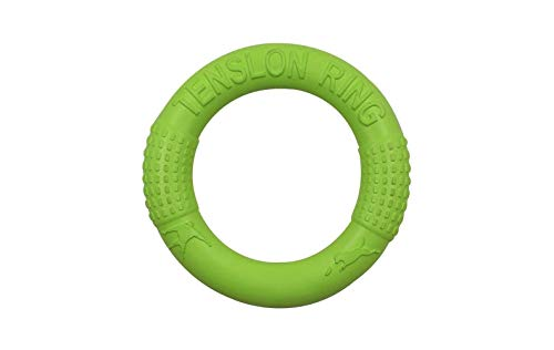 Stephanie Dog Toys - New Dog Flying Discs Pet Training Ring Interactive Dog Toy Portable Outdoors Large Dog Toys Pet Products Motion Tools - van 1 PCS, green - diameter about 18cm - Russian Federation