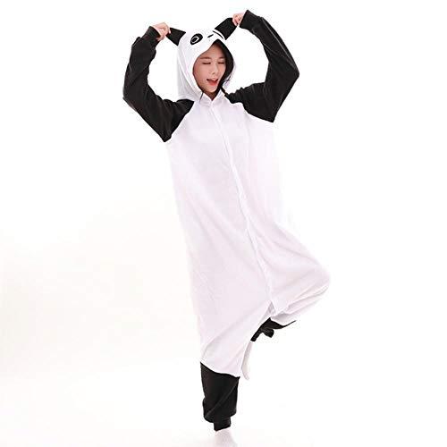 FZH Pyjama Vêtements de Nuit Coton Adulte Dessin animé Animal Pokemon Snorlax Kigurumi Combinaisons Pyjamas Belle Cosplay Amoureux Costume Maison vêtements de Nuit-Panda_M