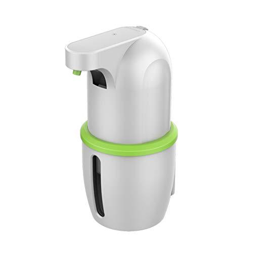 QIANGU Dispensador de jabón, dispensador automático de Gel desinfectante de Manos, eléctrico operado por batería sin Contacto con
