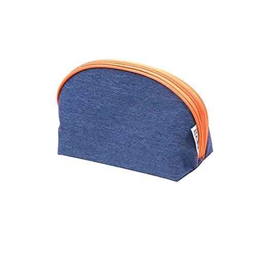 Bolsa Multifuncional de Viaje portátil de 2 Piezas, con Bolsa de Aseo para niñas, Billetera para Mujer (Gray Blue,Pack of 2)