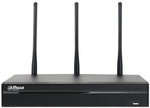 NVR HD 4CH@5Mpx 80Mbps HDMI/VGA Modulo WiFi Dualband Onvif 2.4 Dahua DHI-NVR4104HS-W