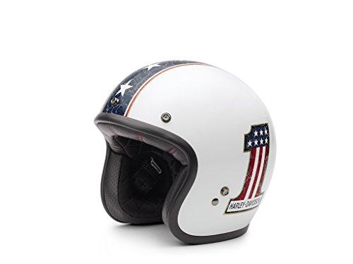 HARLEY-DAVIDSON Americana Retro 3/4 Jet Helm, EC-98311-15E, XS