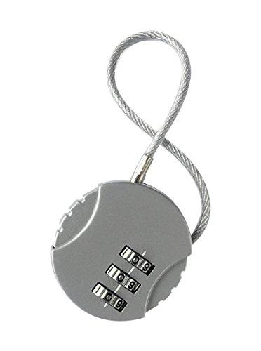 Korbond Lucchetto per valigie, argento (Argento) - 117076