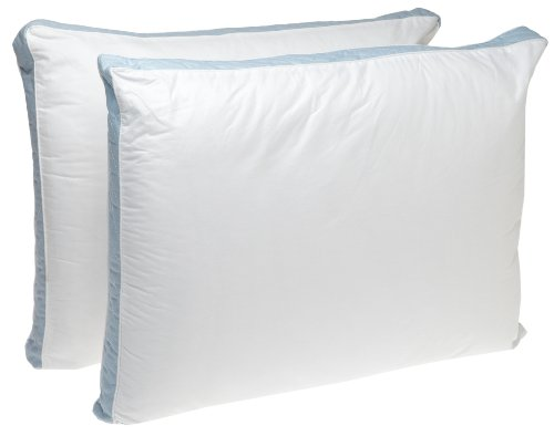 Perfect Fit | Gusseted Quilted Pillow Hypoallergenic, 233 Thread-Count, Firm Density, Set of, 2 (Back Sleeper, King)