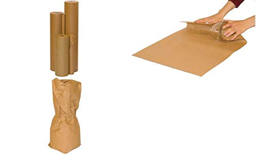 smartboxpro 253101316 Packpapier auf Rolle, 1.000 mm x 10 m, braun