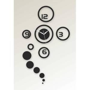 Horloge Murale moderne Design Décoratif Décoration mural Cadeau Noir