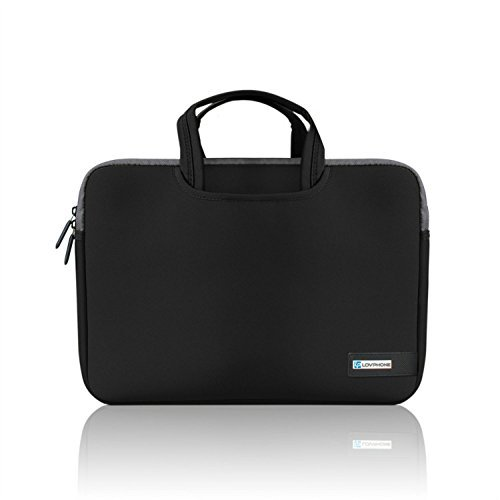 15.6 Inch Laptop Sleeve,LOVPHONE Water-Resistant Notebook Computer Case Cover for MacBook Air