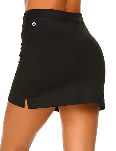 MAXMODA Damen Sportskort Tennis/Hockey/Golf Sport-Hosen Rock/Skort, Winddicht mit viel Farbe
