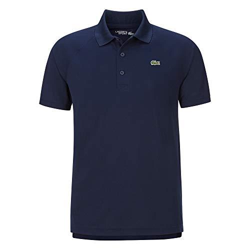 Lacoste Herren Chemise COL Bord-COTES MA Tennis Polo blau L