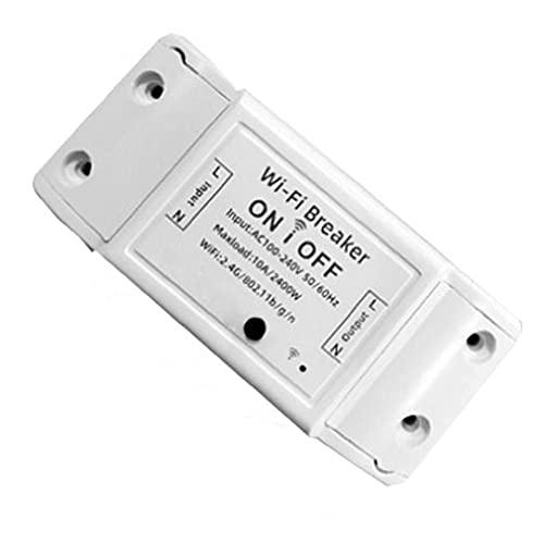Electrodomésticos para el hogar WiFi interruptor de circuito inalámbrico control remoto electrodomésticos del hogar Controlador WiFi Controlador ABS Socket Socket Aplicación Control remoto