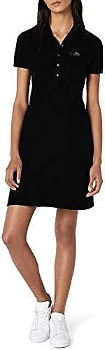 Lacoste Damen Ef8470 Knielanges Fit-Slim-Kleid