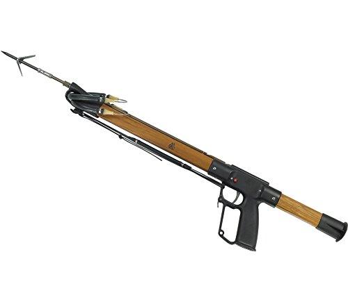 AB Biller Teak Wood Series Special Speargun Spearfishing Kit, 54