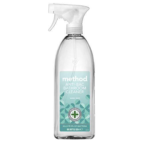 Method Antibacterial Spray, Bathroom Cleaner, Water Mint, 828 ml