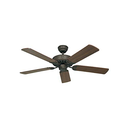 Ventilador de techo CasaFan 510313 CLASSIC ROYAL 103 nogal o mimbre/marron
