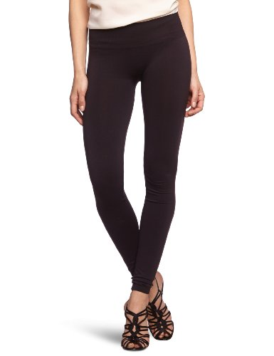 VILA CLOTHES Damen Legging 14015851 Seam Long Legging, Gr. 34/36 (XS/S), Schwarz (BLACK)