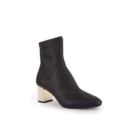 michael kors footwear - Botas de mujer con tacón de color dorado Negro Size: 36 EU
